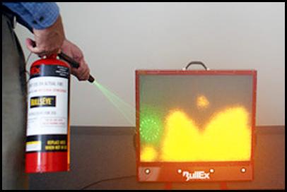 BullsEye Fire Extinguisher