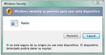 Alerta Windows Vista