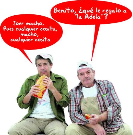Manolo y Benito en San Valentín