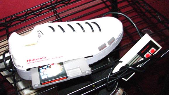 Zapatilla con NES