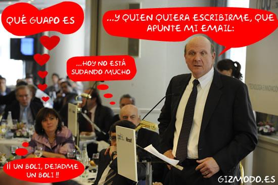 Steve Ballme llega a Madrid y nos deja su email para escribirle
