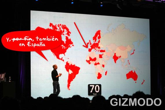 iPhone 70 países