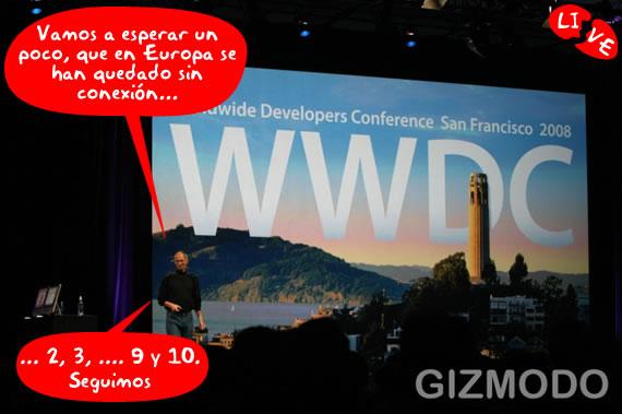 Apple Worldwide Developers 2008 (en vivo)