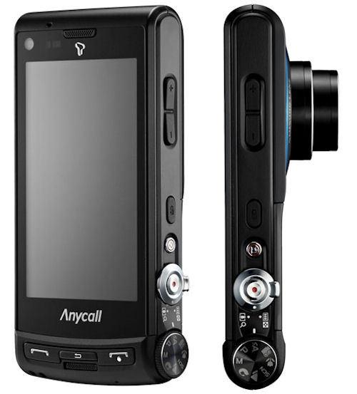 Móvil 12 Sch-w880 Oficialmente Su Anuncia De cámara Samsung