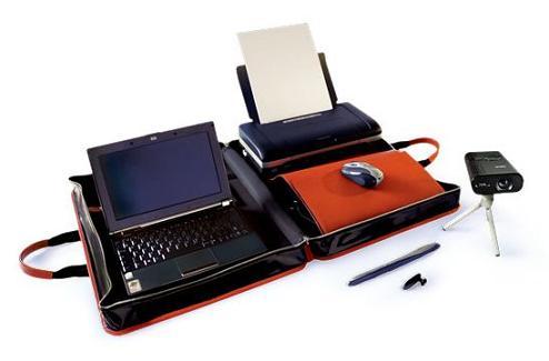 Oficina de viaje cuando un simple port til ya no es for Oficina portatil