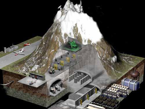 Luj n archivos ovni ufos conspiraciones paranoia - Bunker casa blanca ...