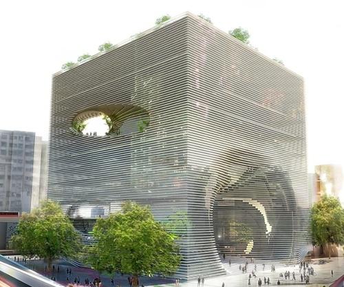 El Edificio Entrelazado Nos Muestra Una Ilusi 243 N 243 Ptica 24