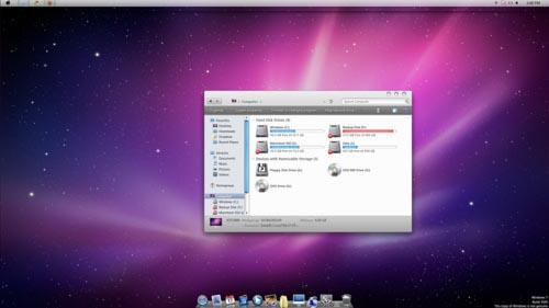 barra de herramientas para windows 7 estilo mac