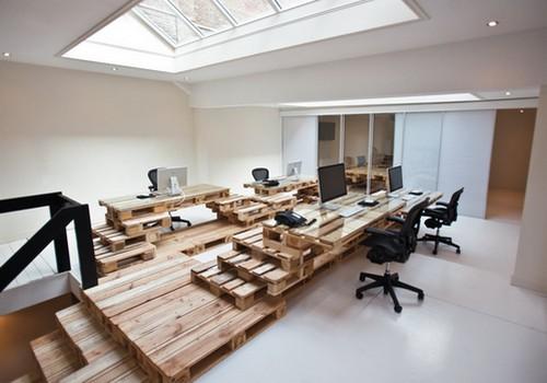 Un estudio de arquitectura construido con pal s - Estudios de arquitectura coruna ...