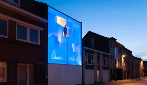 Tras esta fachada de cristal con pinta de discoteca se - Discoteca in casa ...