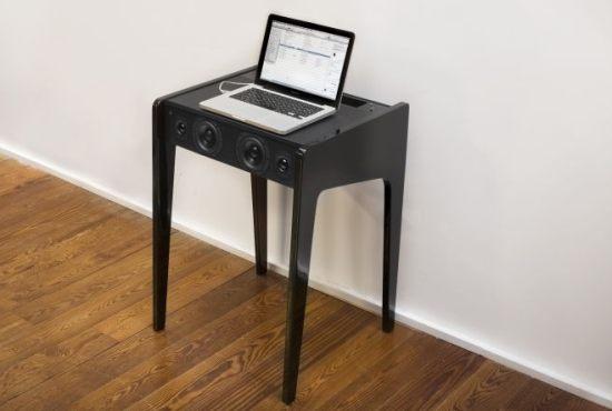 Laboite laptop dock ld 120 una mesa altavoz que no es para todos los bolsillos - Mesa para portatil ikea ...