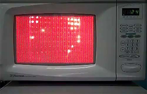 Resultado de imagen de microondas siniestro