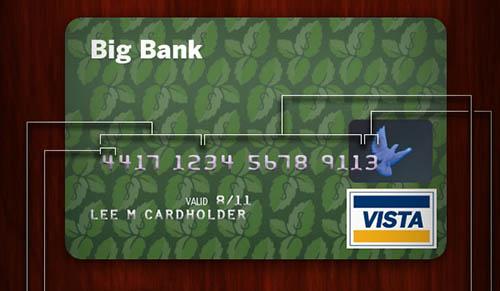 Qué significan los números de tu tarjeta de crédito?
