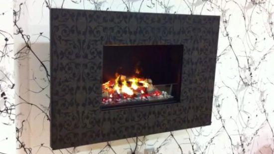 Zen fireplace la chimenea de mentira con llamas y humo falso for Fuego falso para chimenea