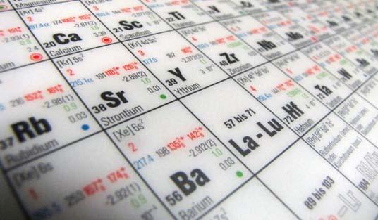 Agregan dos nuevos elementos a la tabla peridica los fabricantes urtaz Images