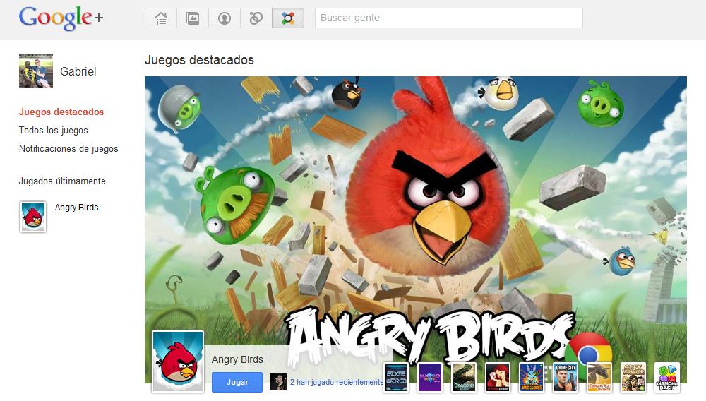 ... nuevos juegos para Google+ puede dirigirte aquí para aprender como