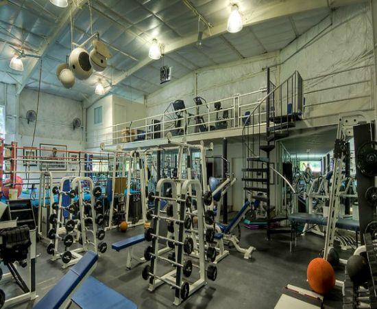Home gym mark wahlberg  Mark Wahlberg vende su casa por 10 millones de € incluyendo su ...