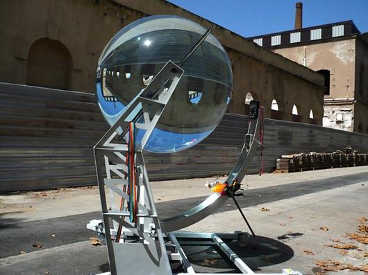 Las placas solares son cosa del pasado llegan las esferas for Placas solares barcelona