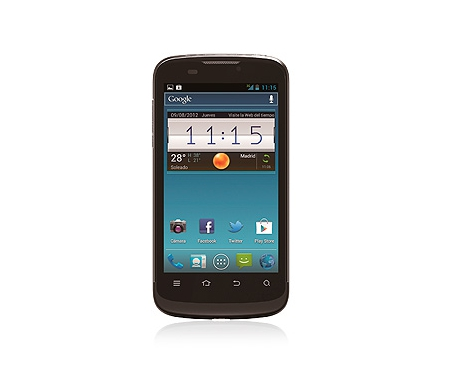 El ZTE Skate Pro es un terminal asequible con Android 4.0 que se lanza en exclusiva con Movistar hasta enero de 2013.