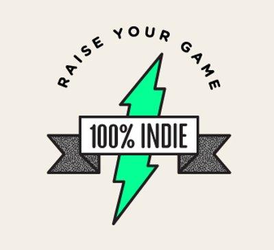 100 Indie logo