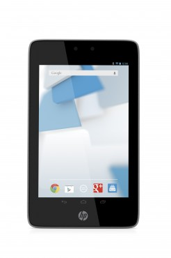 HP Slate7 HD Tablet, Slate Grey with Android Screen, Front