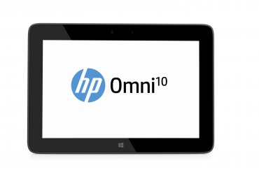 HP Omni10 Tablet, Graphite, Front