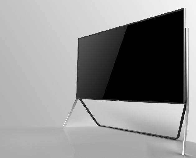 televisor 4K flexible