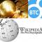 Wikipedia recibe 140.000$ en donaciones de Bitcoins