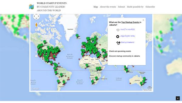 map-startups
