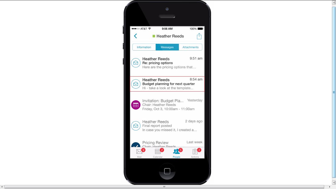 IBM Verse-app