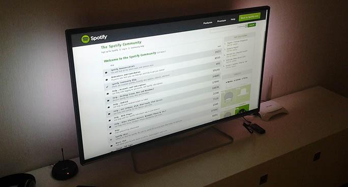 Spotify-TV