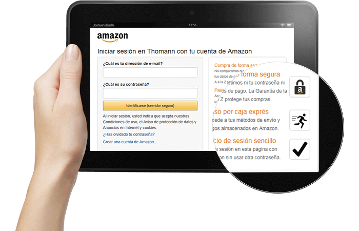 Amazon pay españa