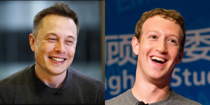 Elon Musk Mark Zuckerberg