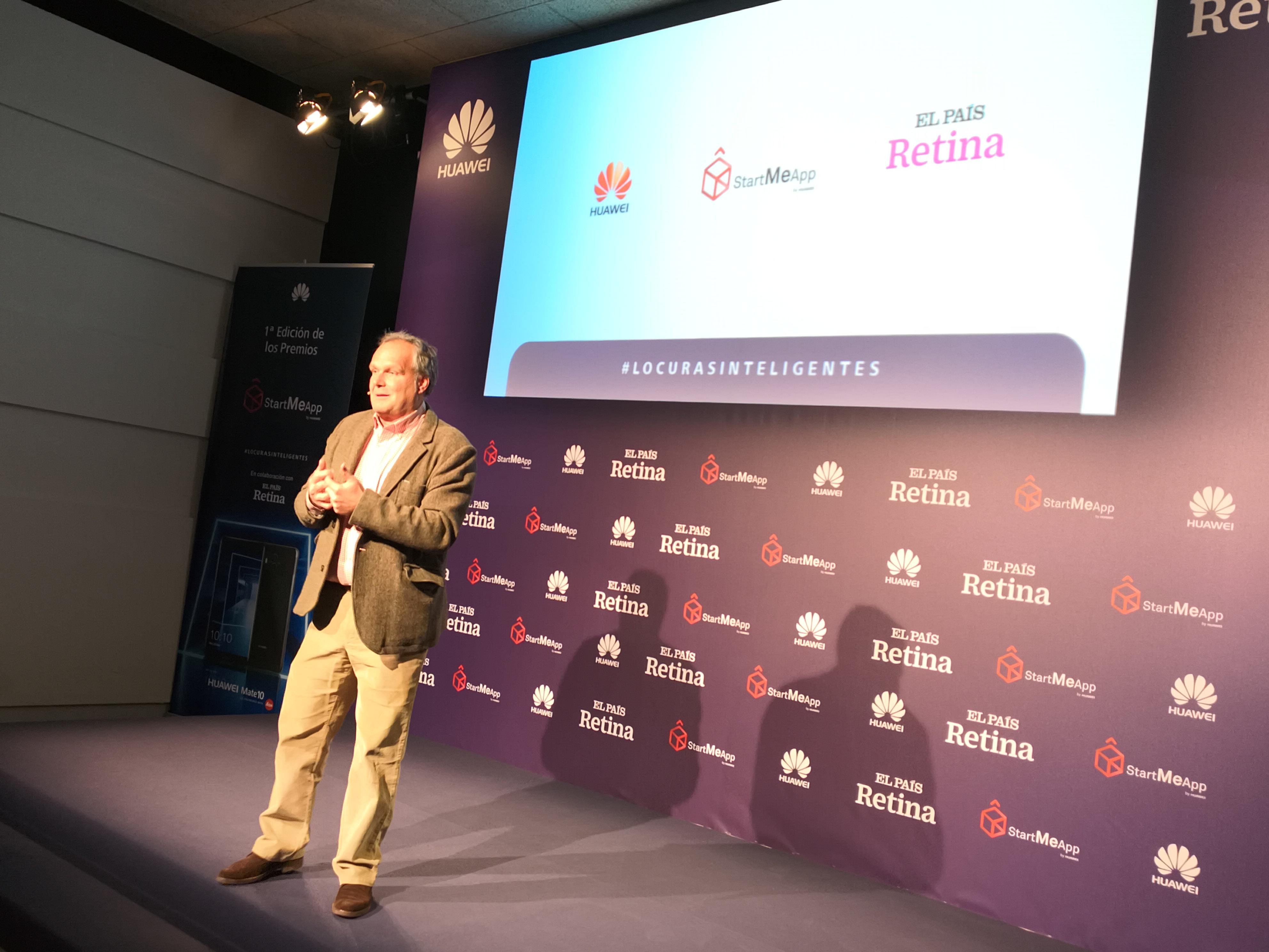 Ramiro Larragán, momentos antes de conocer a los finalistas y ganador